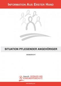 "Publikation ""Situation pflegender Angehöriger"""
